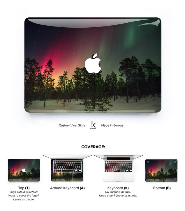 Magic Tree MacBook Skin at Keyshorts.com