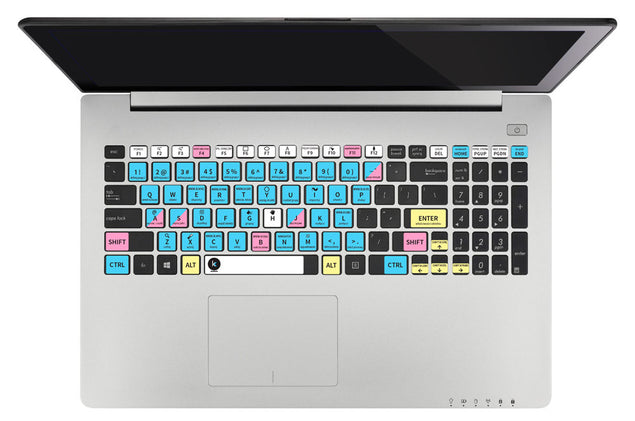 CorelDRAW Keyboard Shortcuts Sticker at Keyshorts.com