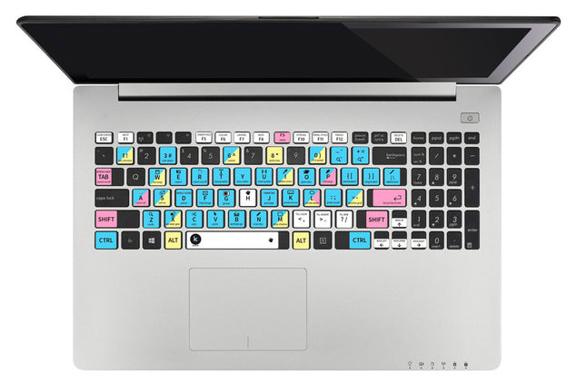 Adobe InDesign Keyboard Shortcuts Sticker at Keyshorts.com - 2