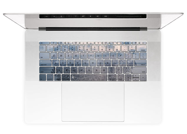 Maltese Mandala MacBook Keyboard Stickers alternate