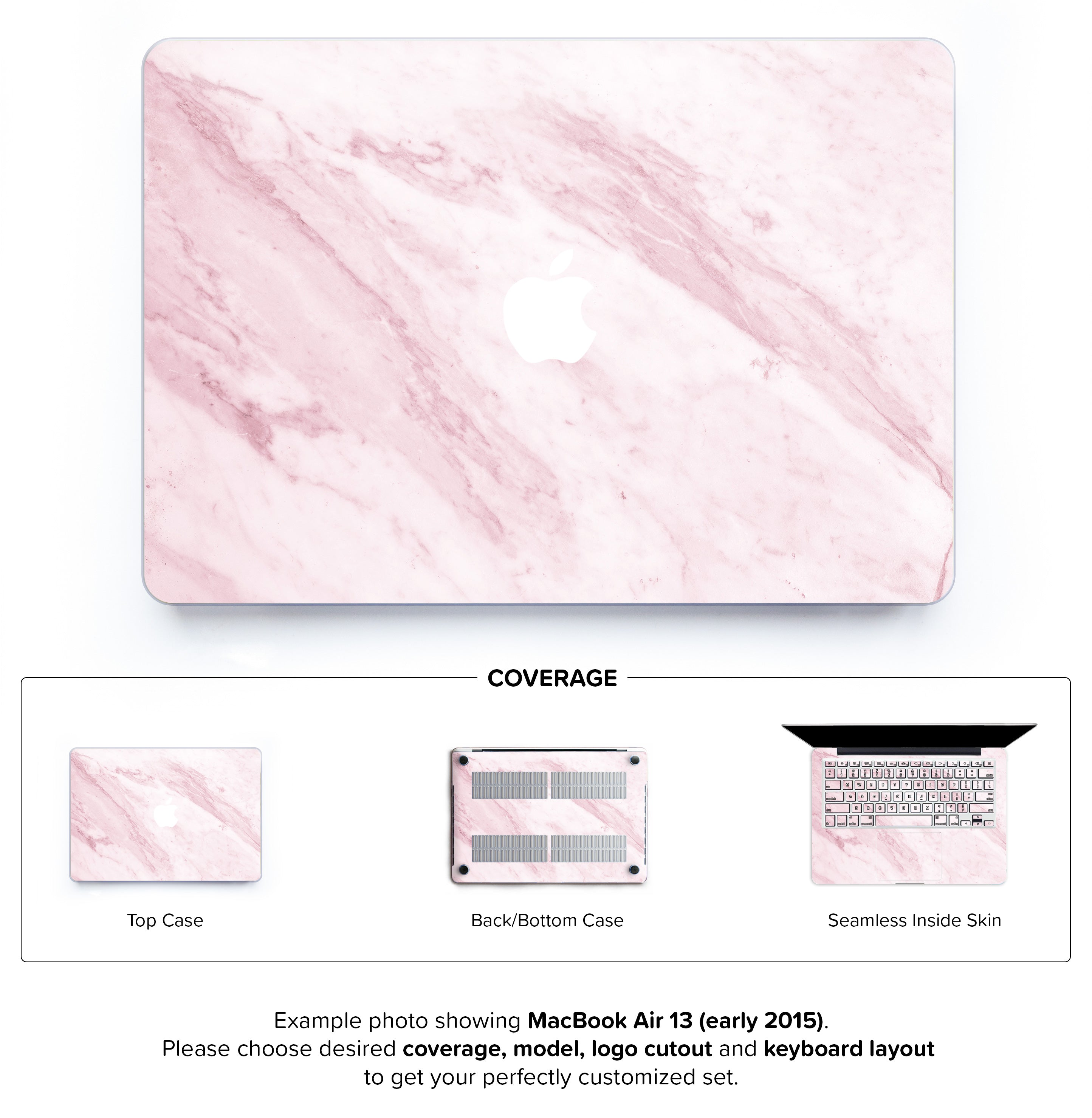 buy online 79bac e2007 Marble On The Sun Hard Case for MacBook Air 13