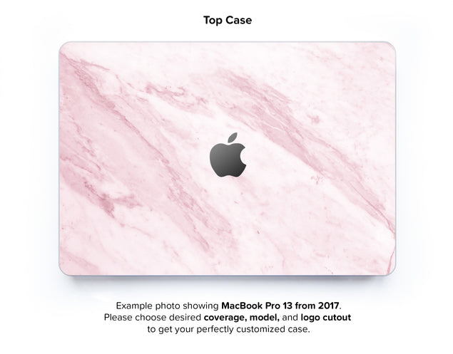 Marble On The Sun Hard Case for MacBook Pro 13 without TouchBar - top case