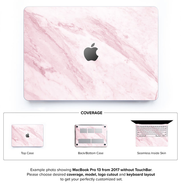Marble On The Sun Hard Case for MacBook Pro 13 without TouchBar