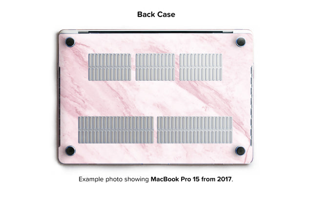 Marble On The Sun Hard Case for MacBook Pro 15 with TouchBar - back/bottom case