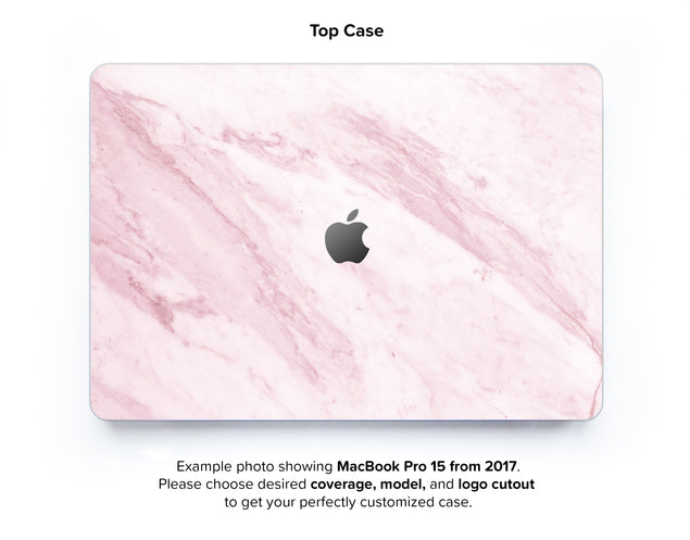 Marble On The Sun Hard Case for MacBook Pro 15 with TouchBar - top case