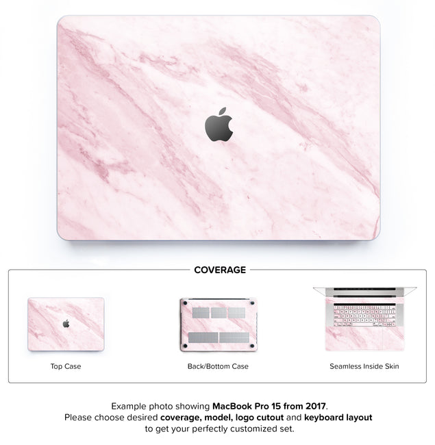 Marble On The Sun Hard Case for MacBook Pro 15 with TouchBar