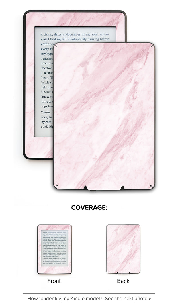 Marble on the sun Kindle Skin