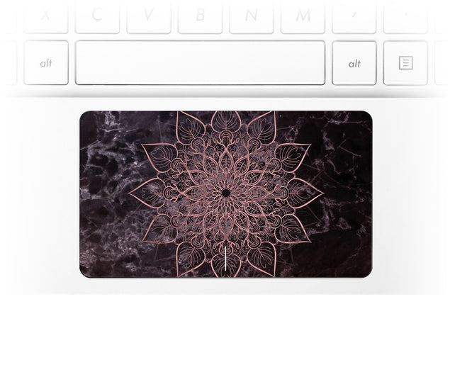 Marbleous Mandala Laptop Trackpad Sticker