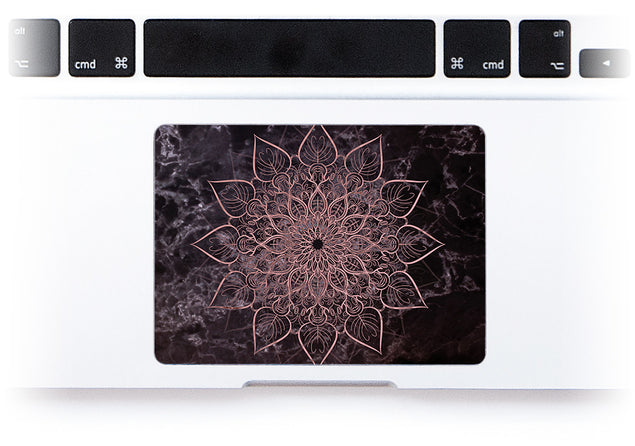 Marbleous Mandala MacBook Trackpad Sticker alternate