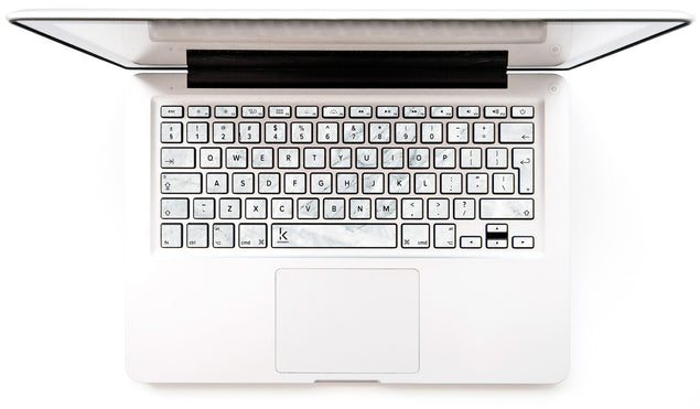 March Marble MacBook Keyboard Decal
