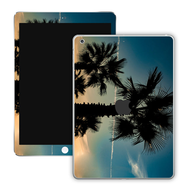 Marsala Sunset iPad Skin
