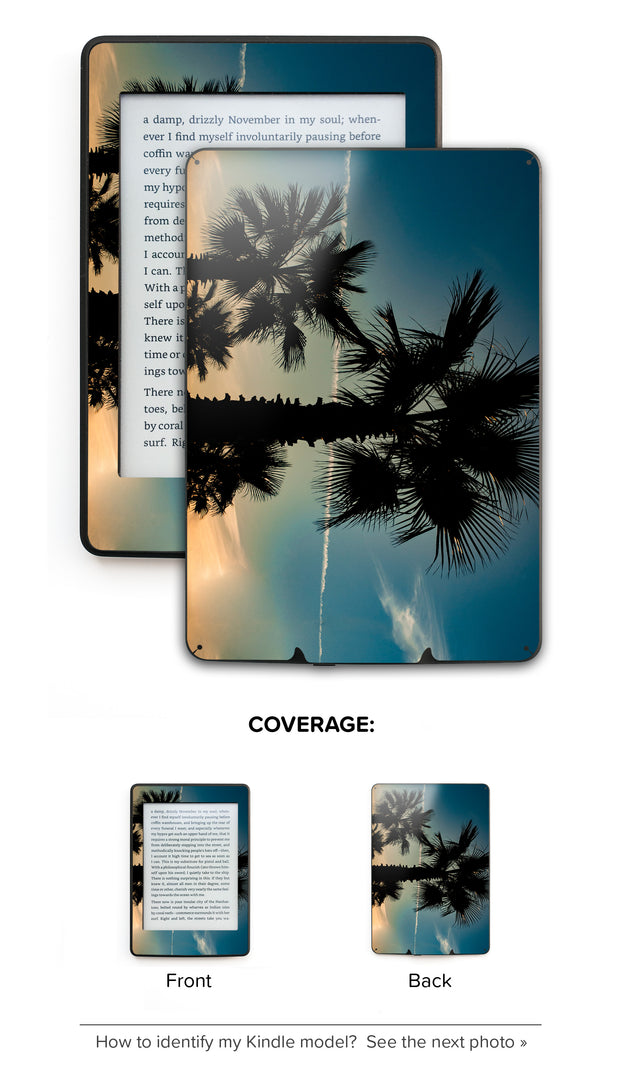 Marsala Sunset Kindle Skin
