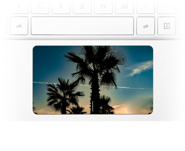 Marsala Sunset Laptop Trackpad Sticker