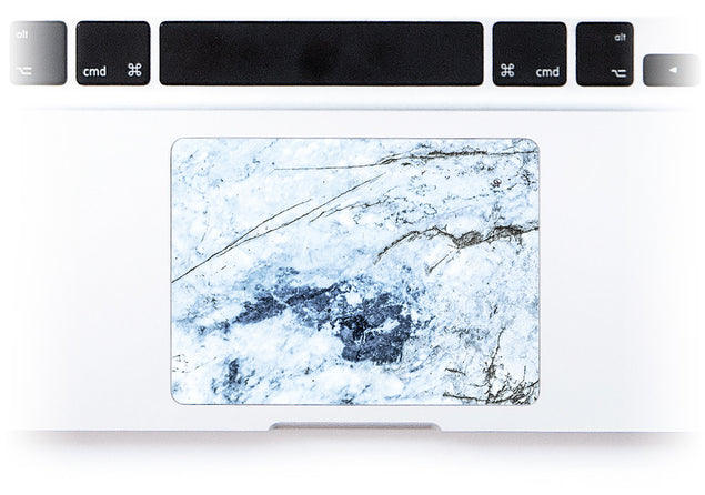 Medieval Blue Marble MacBook Trackpad Sticker alternate