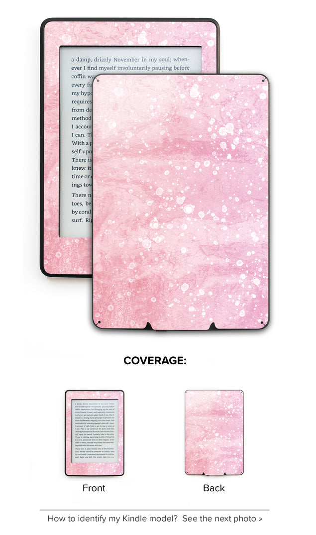 Mellow Rose Coctail Kindle Skin