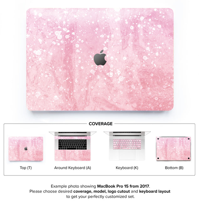 Mellow Rose Coctail MacBook Skin