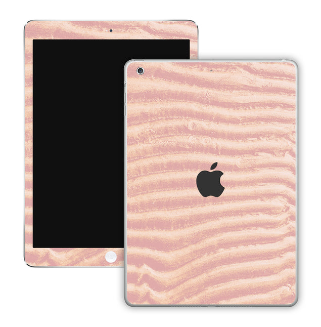 Mellow Rose Sand iPad Skin