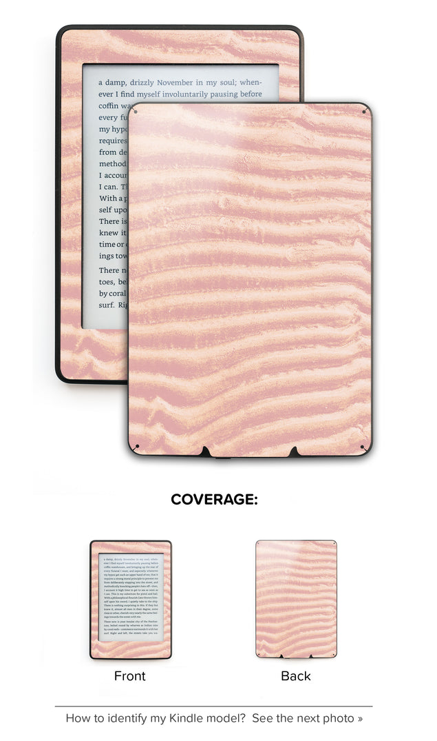 Mellow Rose Sand Kindle Skin