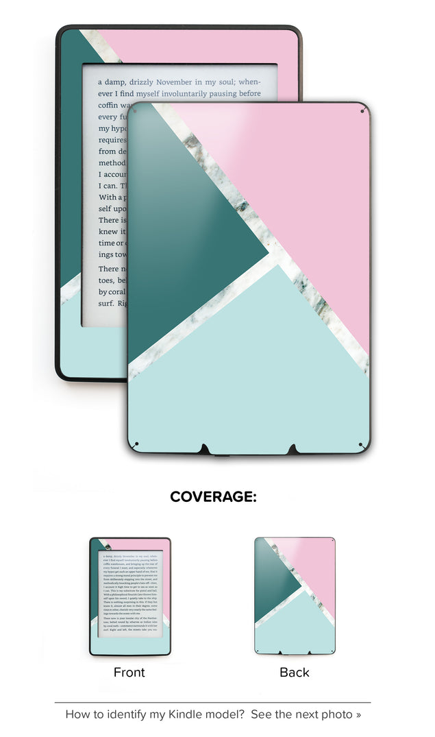 Millennial Trio Kindle Skin
