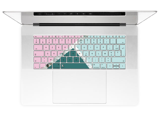 Millennial Trio MacBook Keyboard Stickers alternate