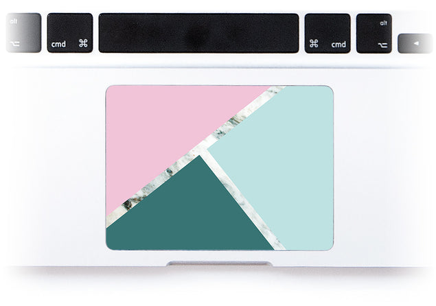 Millennial Trio MacBook Trackpad Sticker alternate