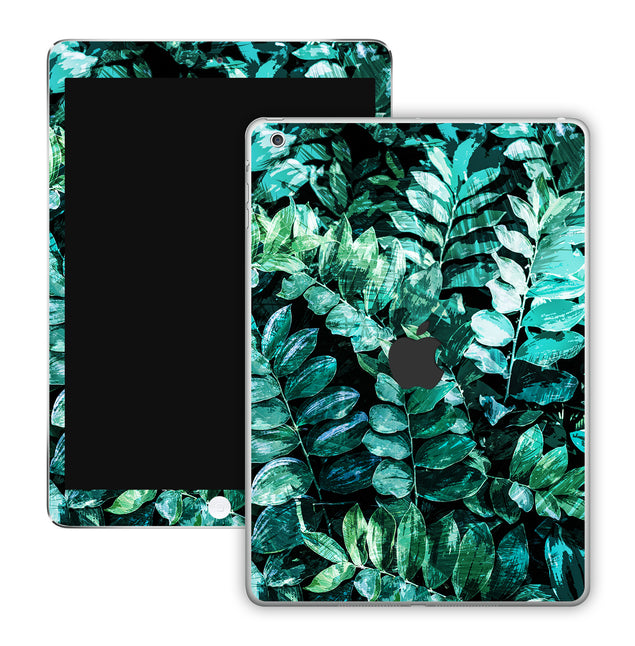 Mineral Leaves iPad Skin