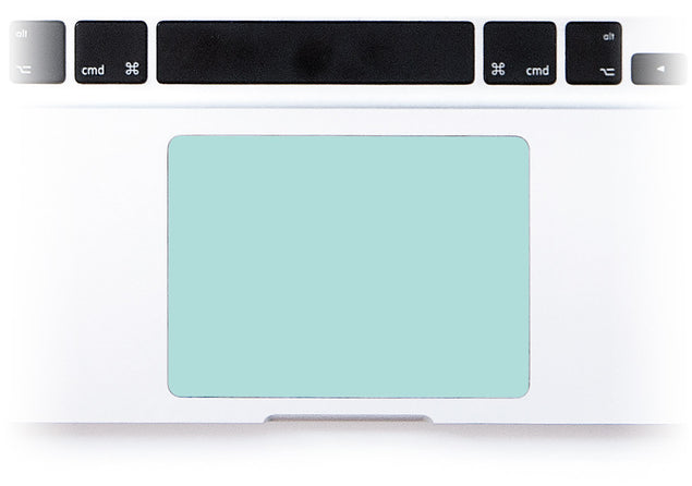 Mint MacBook Trackpad Sticker at Keyshorts.com