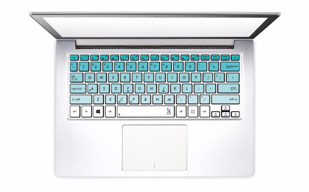 Mint Ombre Laptop Keyboard Decal