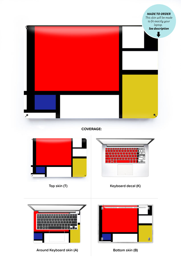Modernist Dream Laptop Skin
