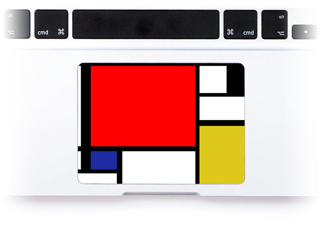 Modernist Dream MacBook Trackpad Sticker alternate