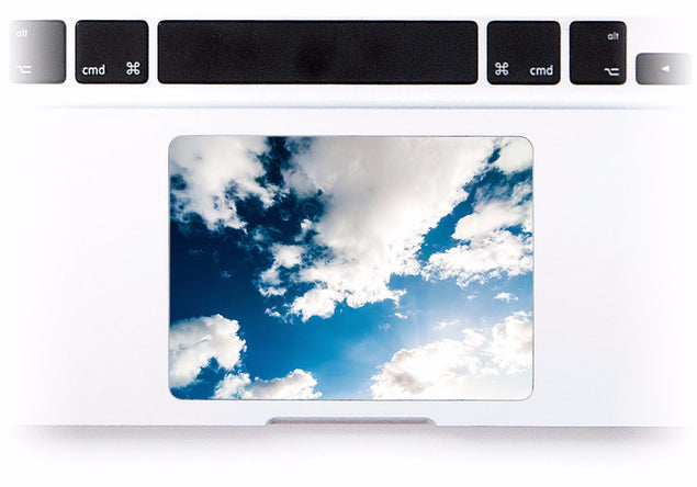 Morning Sky of Fuerteventura MacBook Trackpad Sticker at Keyshorts.com