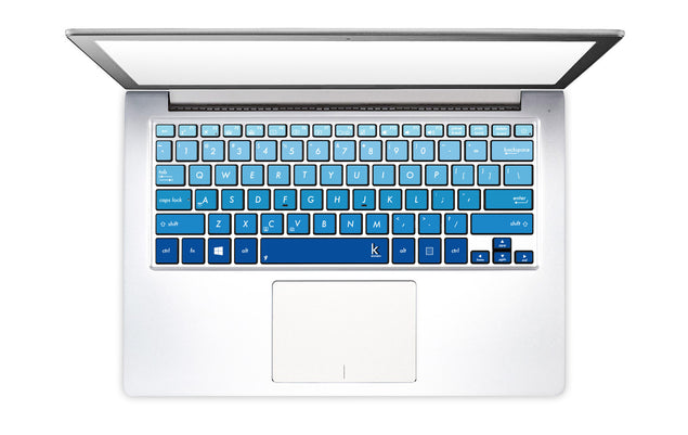 Navy Ombre Laptop Keyboard Decal