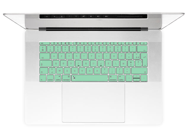 Neo Mint MacBook Keyboard Stickers alternate
