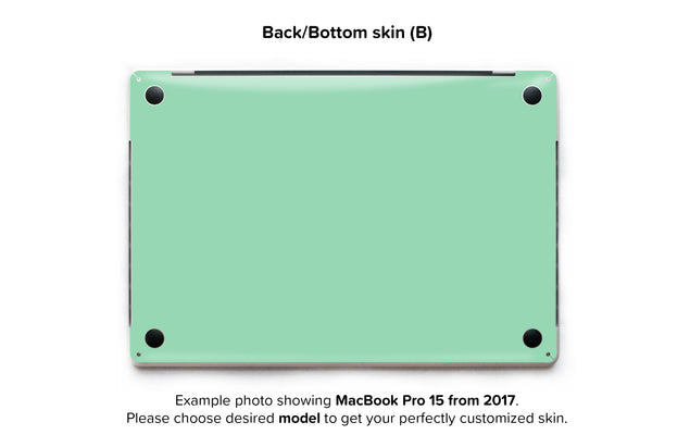 Neo Mint MacBook Skin - back skin
