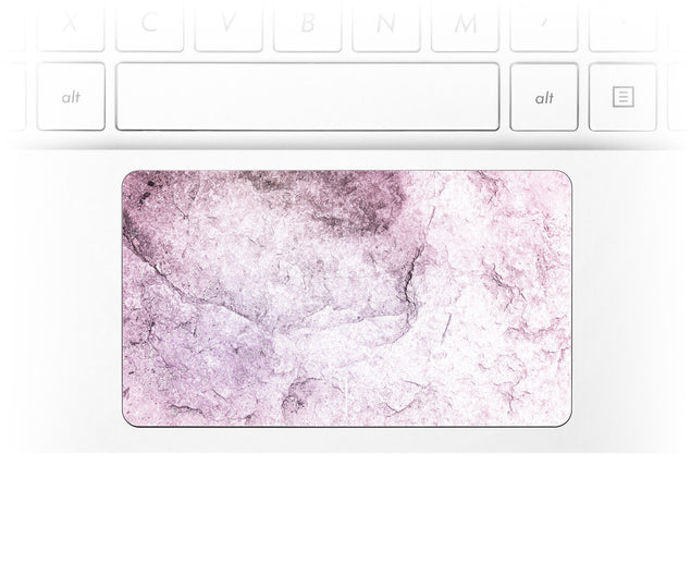 New Pink Marble Laptop Trackpad Sticker