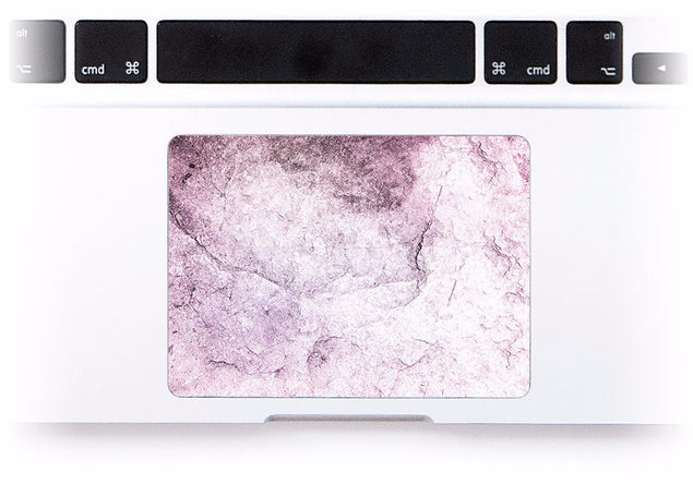 New Pink Marble MacBook Trackpad Sticker at Keyshorts.com