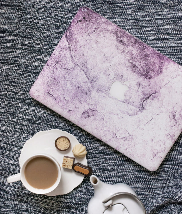 New Pink Marble MacBook Skin at Keyshorts.com - 3