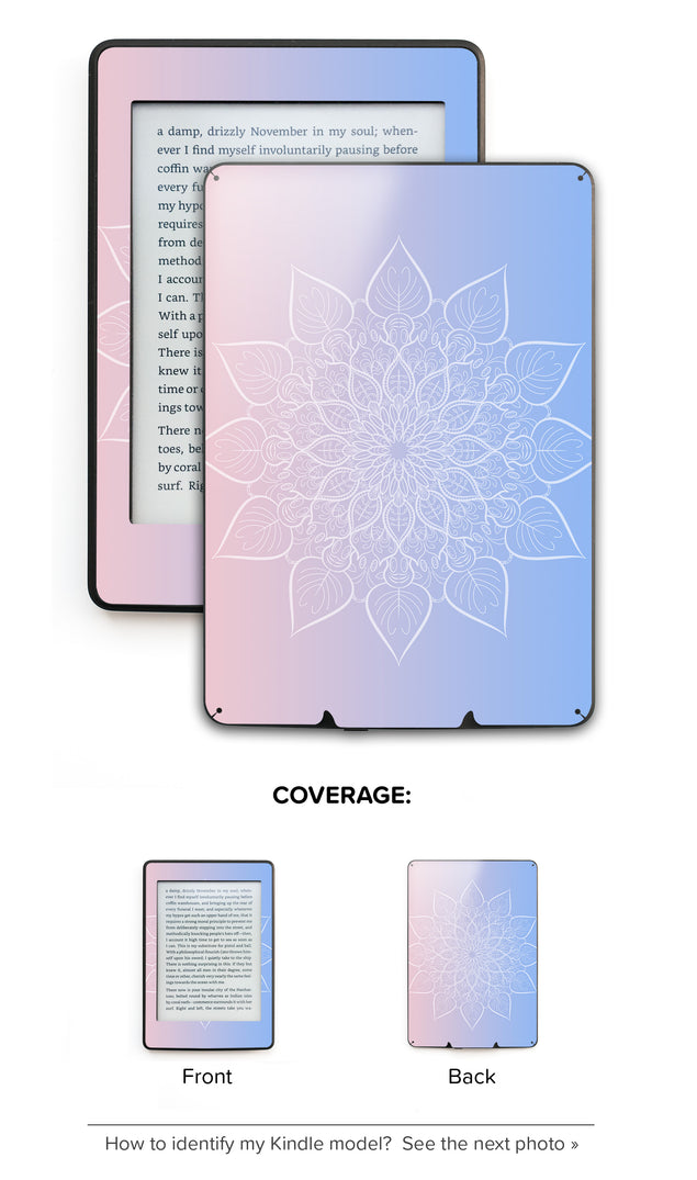 New Power Mandala Kindle Skin