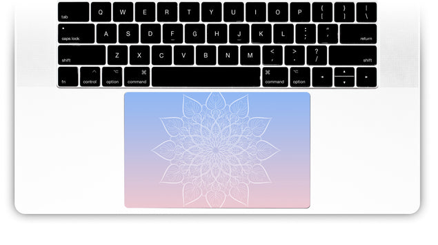New Power Mandala MacBook Trackpad Sticker