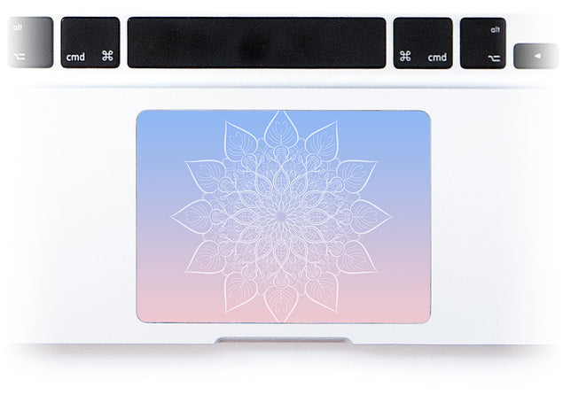 New Power Mandala MacBook Trackpad Sticker alternate