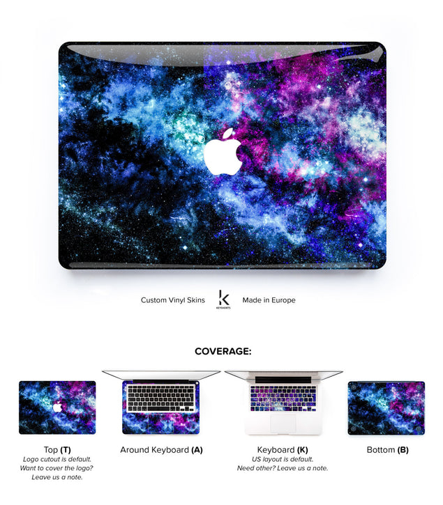 New Stellar MacBook Skin at Keyshorts.com