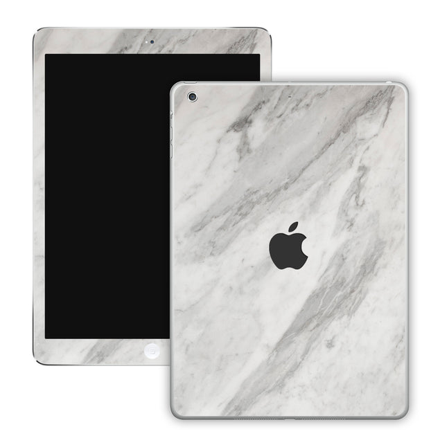 New White Marble iPad Skin