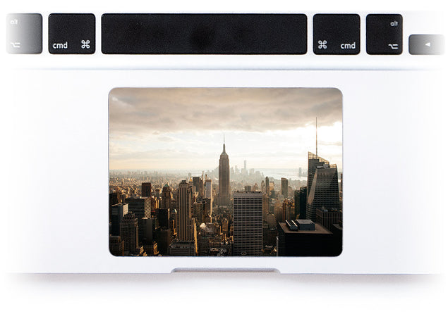 New York MacBook Trackpad Sticker at Keyshorts.com