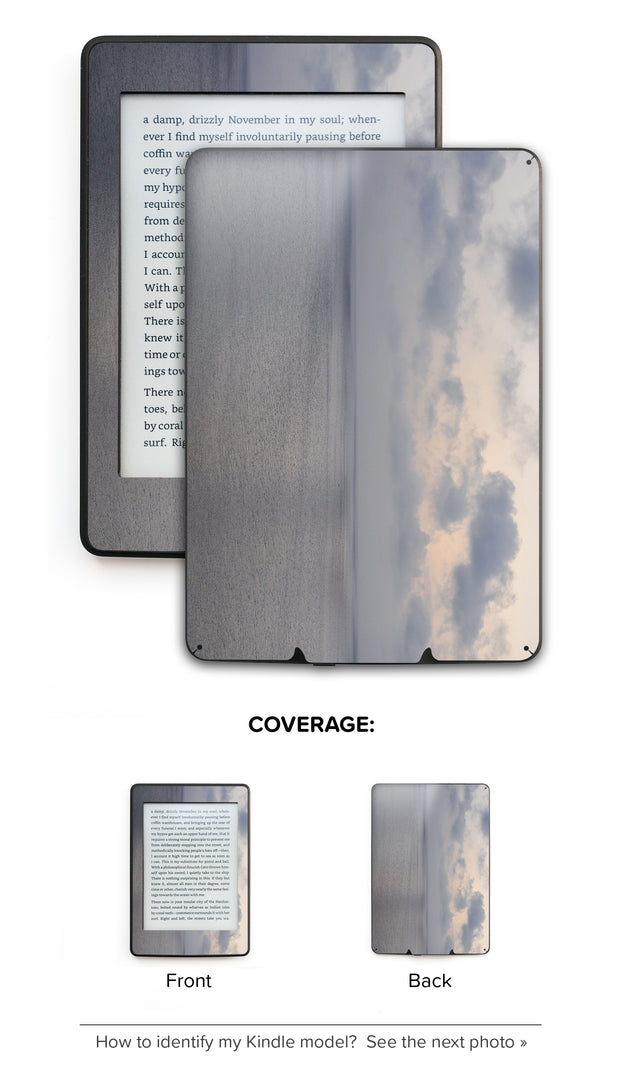 No Filter Here Kindle Skin