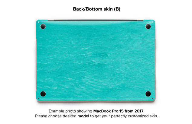 No regret MacBook Skin - back skin