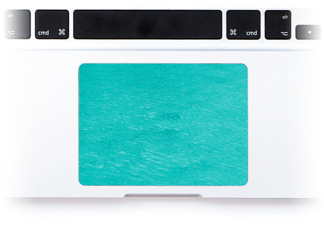 No regret MacBook Trackpad Sticker alternate