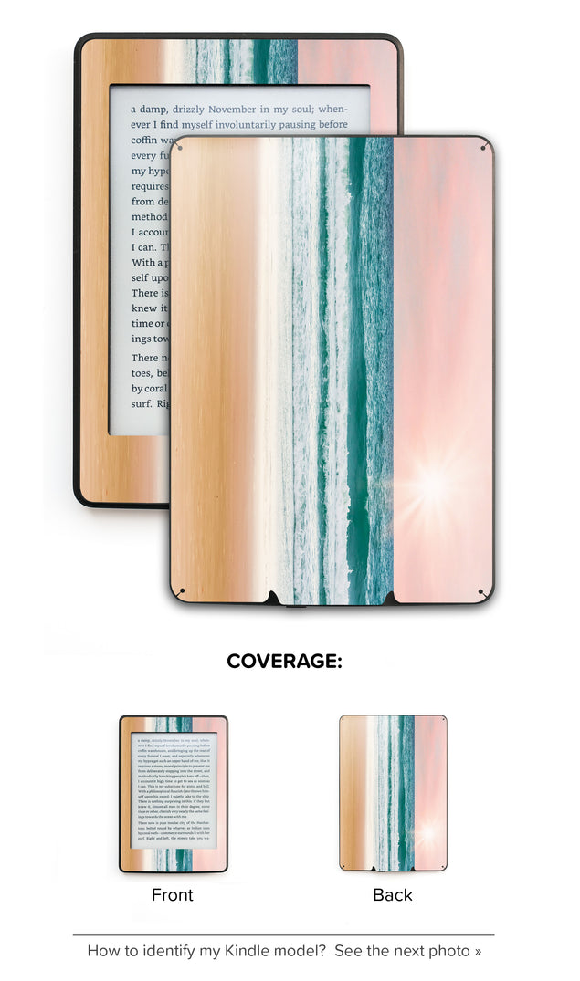 Ocean Love Kindle Skin