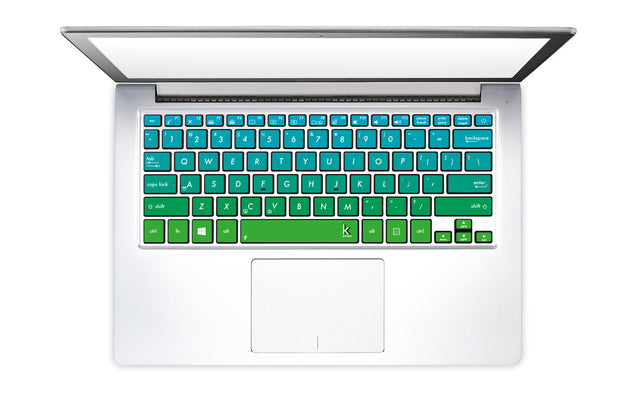 Ombre Gecko Laptop Keyboard Decal