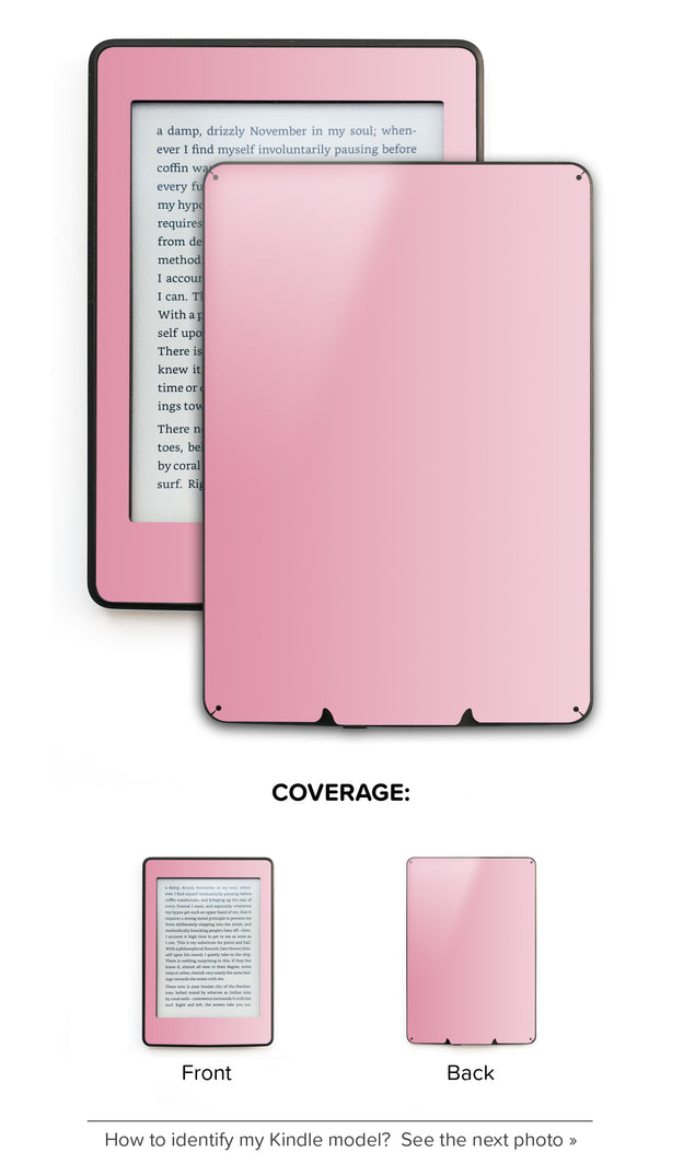 Ombre in Pink Kindle Skin
