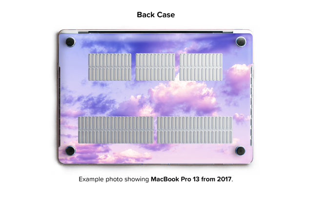 One Bird Sky Hard Case for MacBook Pro 13 with TouchBar - back/bottom case